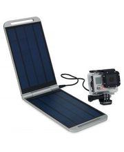 Powertraveller Solarmonkey Expedition nabíječka se solárními panely, stříbrná