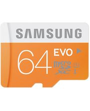 Samsung microSDXC 64GB EVO Class 10 paměťová karta + USB adaptér