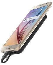 Scosche MagicMount powerbanka 4000 mAh, micro USB, přichycení magentem, černá